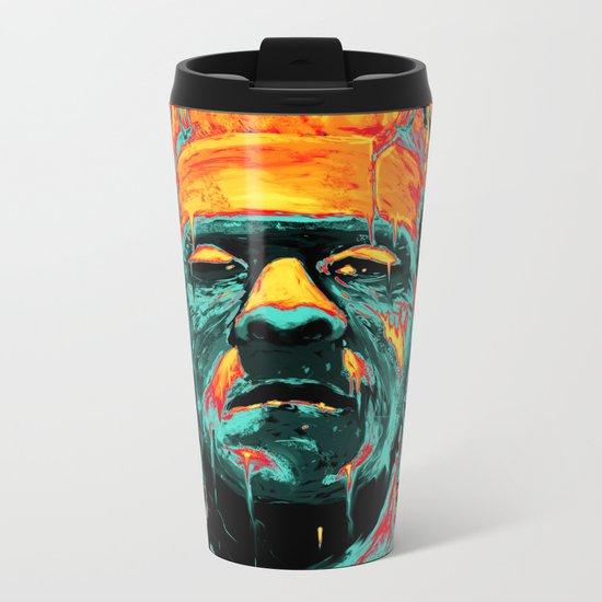 Frankenstein Metal Travel Mug