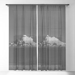 Mount Baker Sheer Curtain