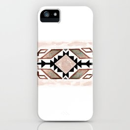 Geometry & Earth Pattern iPhone Case