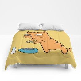 Foodie Cat Comforters