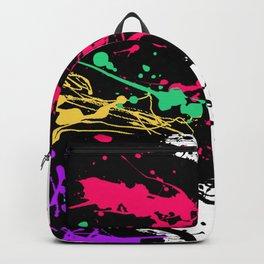 Funky splatter Backpack