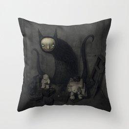 El tesoro Throw Pillow