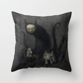 El tesoro Throw Pillow