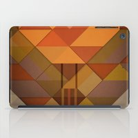 hot air balloon iPad Cases featuring Hot Air Balloon Abstract by Alyn Spiller