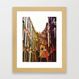 the little Macau from the LOVE ROAD Framed Art Print