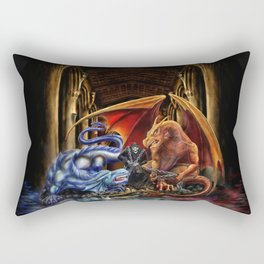 Embalmer's Crest Rectangular Pillow