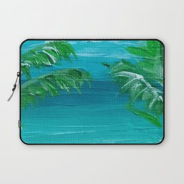 Beach heart Laptop Sleeve