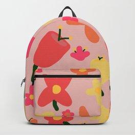 Pink Flowergram Backpack