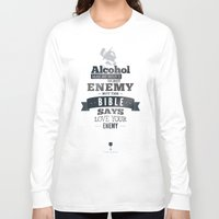 frank sinatra Long Sleeve T-shirts featuring Frank Sinatra Quote by TOP DOGS by fluxographix