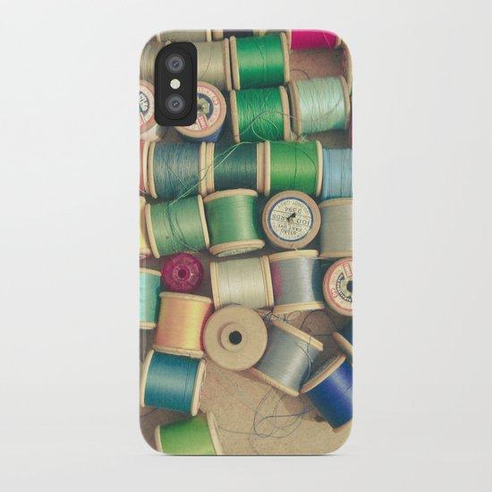 Cotton Reels iPhone Case