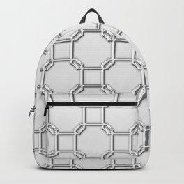 Turandot Chinoiserie Lattice Chromium Backpack