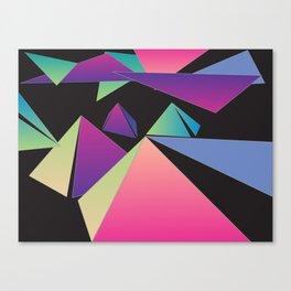 Pyramid Clouds Canvas Print