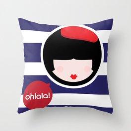CosmoLULU Throw Pillow