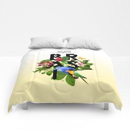 BRASIL Flora - CAPOEIRA RULES Comforters