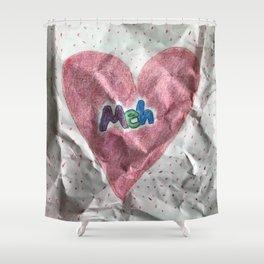 Divorce Valentine Shower Curtain