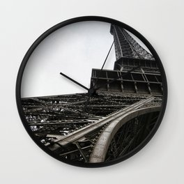 Le Tour Eiffel - Paris Wall Clock