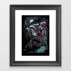 The Dead's Pace Framed Art Print