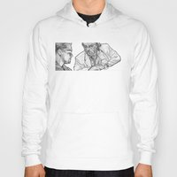 rat Hoodies featuring rat by BzPortraits