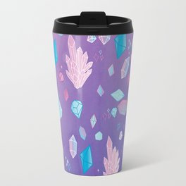 Colorful Crystal Confetti Travel Mug