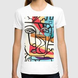 URBAN POP ART - ORIGINAL ART COLORFUL ROBERT R T-shirt