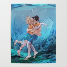 The best underwater kiss Poster