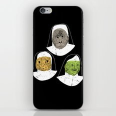 Creatures of Habit iPhone & iPod Skin