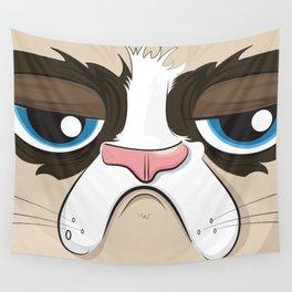 grumpy cat Wall Tapestry