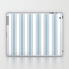 Ribbons Pattern Grey Laptop & iPad Skin