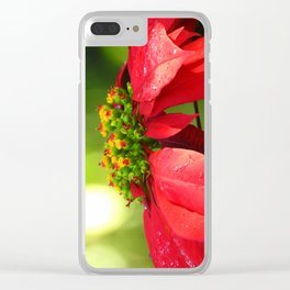 Glory Hallelujah Clear iPhone Case