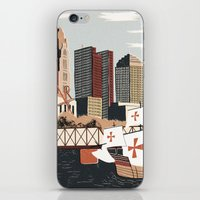 ohio iPhone & iPod Skins featuring Columbus, Ohio by Sam Brewster
