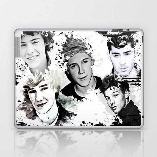 1D Splat Laptop & iPad Skin