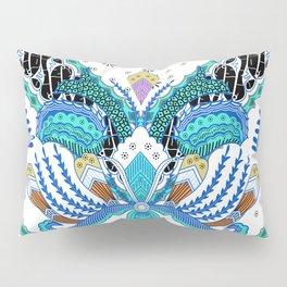 Indonesian batik artwork Pillow Sham
