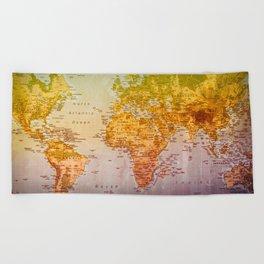 Colorful World Beach Towel