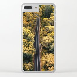 australian road Clear iPhone Case