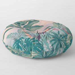 Jungle Paradise Floor Pillow