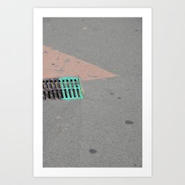 Tiangle Art Print