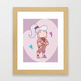 Chloe Valentine Framed Art Print