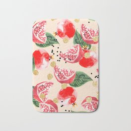 Sweet Pom #society6 #decor #buyart Bath Mat