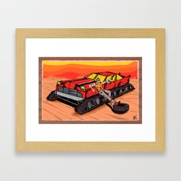 All Terrain: Desert Framed Art Print
