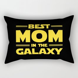 Best Mom in the Galaxy Rectangular Pillow