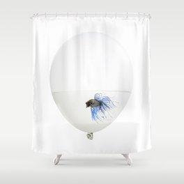 Fish trap Shower Curtain