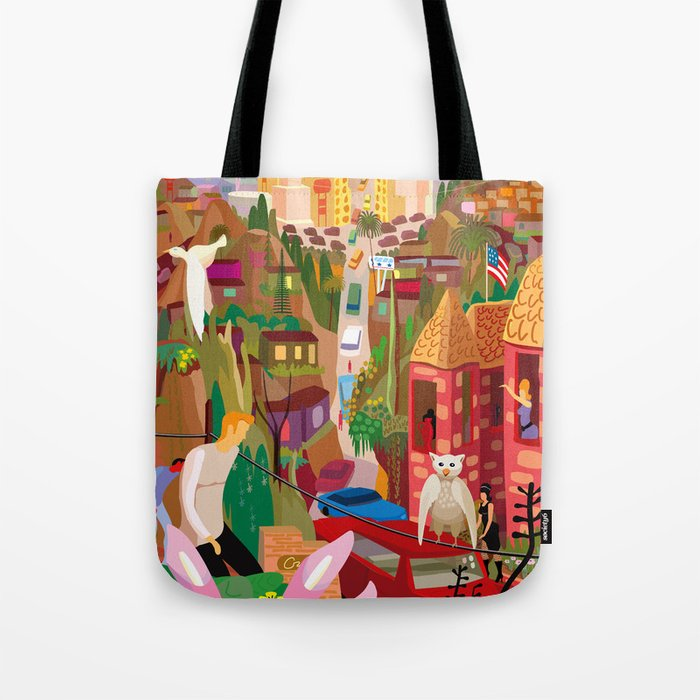 Playboys and Geishas in Old Los Angeles Tote Bag
