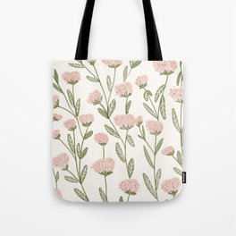 Rose Garden Pattern Tote Bag