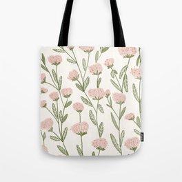 Rose Garden Pattern Tote Bag