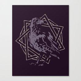 Three-Eyed Raven Canvas Print