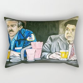 Cheers to Cliff and Norm Rectangular Pillow