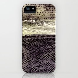 Shaped Canvas iPhone Case