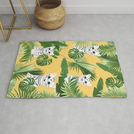 Baby Cat in the Jungle #3 (Kids Collection) #tropical #animal #decor #art #society6 Rug