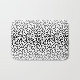Small Random Dots Salmon Bath Mat