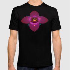 Watcher MEDIUM Black Mens Fitted Tee